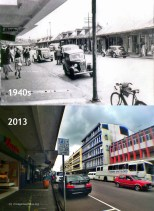 Curepipe Chasteauneuf Street - 1940s/2013
