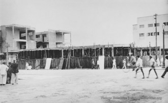 Curepipe - Construction of Merven Building - 1950s