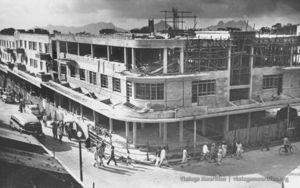 Curepipe - Construction of Merven Building - 1950s
