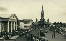 Curepipe Town Hall, Library and Garden