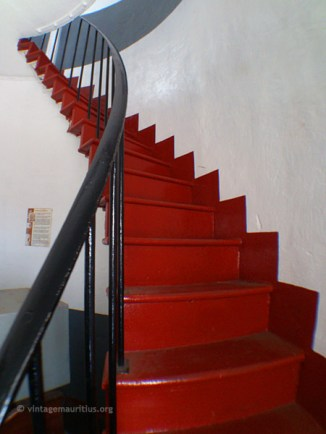 Going up the Stairs to the First Floor