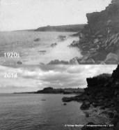 Flic En Flac Baie du Corsaire Now Then 1920 2014