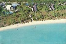 Flic en Flac - La Pirogue Hotel - Aerial View - 1984