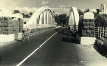 The Suspended Bridge of GRNW after its transformation - 1960s