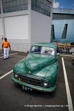 Green Morris Minor Classic Vintage Car Mauritius