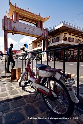 Honda PC50 Royal Street Port Louis Mauritius Chinatown