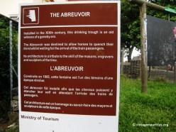Mahebourg-Abreuvoir-Signpla