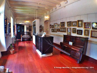 Mahebourg Naval Museum - Chateau Robillard - First Floor - Palanquin