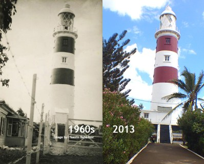 Albion Lighthouse - 1960s/2013