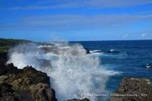 Pont Naturel - Mauritius - Crashing Waves & Cliffs - 2014