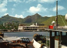 Port Louis - The Harbour from the Docks - 1970s
