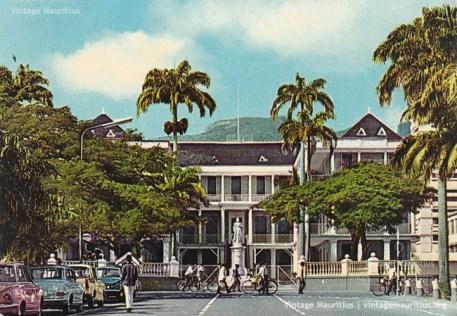Port Louis Place D'Armes 1976