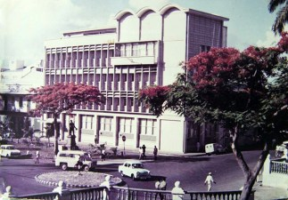 Port Louis - Place D'Armes - Round About - 1960s (Courtesy: Mohammad Faiz)