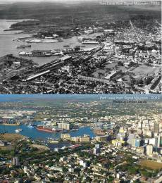 Port Louis from Signal Mountain - 1932/2013