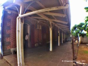 Under the Veranda of the Souillac Train Station