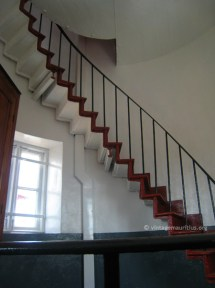 Stairs to Level 4
