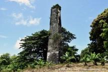 Surinam Old Sugar Mill Chimney
