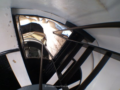 The Dome visible from the Stairs