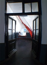 Inside the Albion Lighthouse, the Corridor.