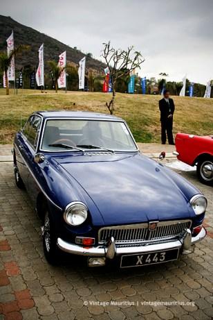 Vintage MG Car Mauritius