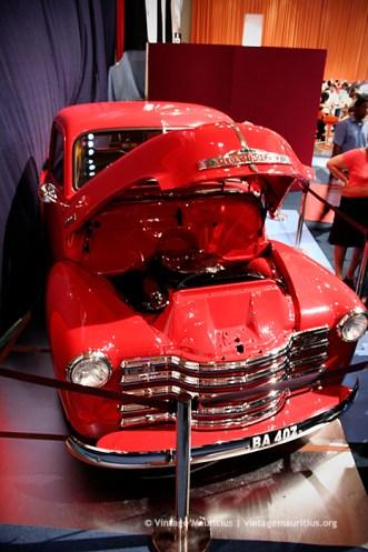 Vintage Pickup Van Mauritius