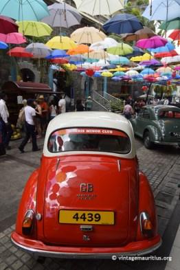 Vintage Valentine Colorful Umbrellas