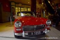 Vintage Valentine MG Midget Red