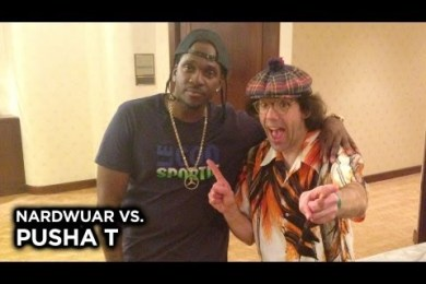 Nardwuar vs. Pusha T