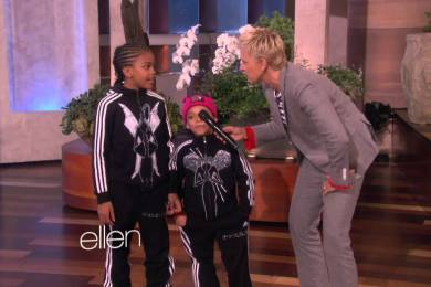 B-Girls Terra (6) & Eddie (9) Amazing Dance On Ellen Show