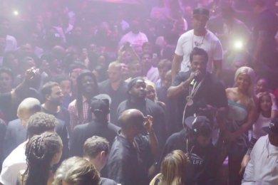 DJ Khaled Celebrates His Birthday At LIV