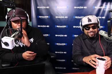 Ice Cube Freestyles On Sway