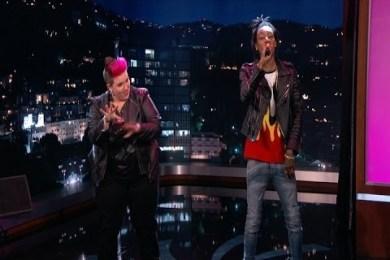 Wiz Khalifa Raps With 3 Sign Language Interpreters