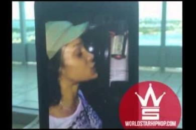 Joseline Hernandez (Of Love & Hip Hop) High AF In The Studio