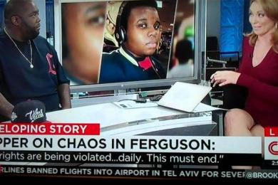 Killer Mike Speaks On The Mike Brown Shooting On CNN