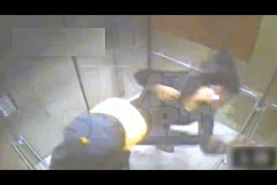 NFL Player Ray Rice Knocking Out His Fiancee In A Elevator