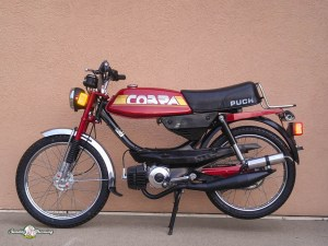 *Restored* 1984 Puch Cobra Moped (Sold) | Sunday Morning Motors