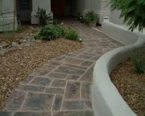 Reforma de chalets pavimento exterior