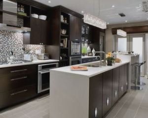 Reformas de cocinas muebles oscuros