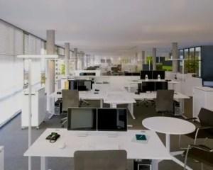 Reformas de oficinas con mucha iluminación