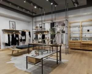 Reformas de tiendas con pavimento de madera