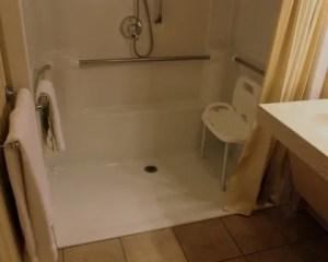 Reforma de cuarto de baño movilidad reducida ducha