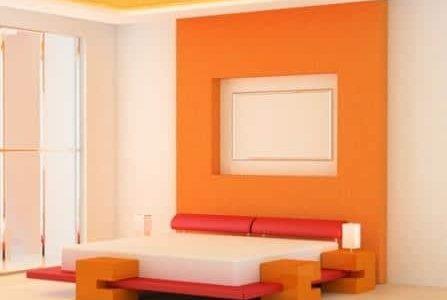 Pintura de interior vintage obras for Pinturas paredes interiores