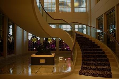 Remodelação de hall de hotel.