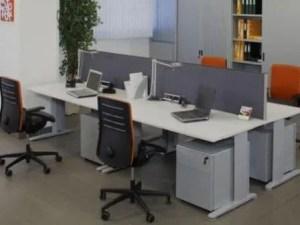 Remodelação de escritório.