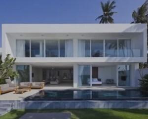 Construções de casas de luxo