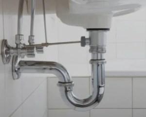 Canalização lavatório de casa de banho
