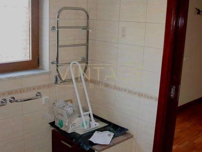Remodelação de casa de banho: Toalheiro