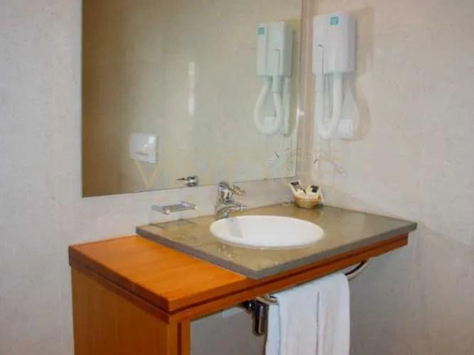 Remodelação de hotel: casa de banho
