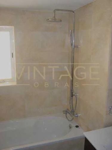 Remodelação de casa de banho duche e banheira