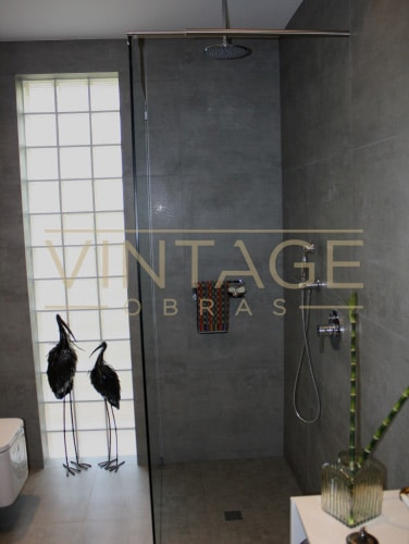 Remodelação de Casa de Banho - Zona de duche.